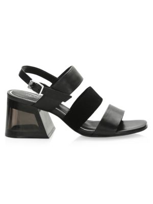 Reese Leather & Suede Sandals