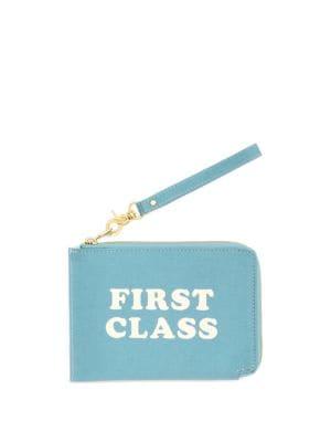 First Class Travel Clutch