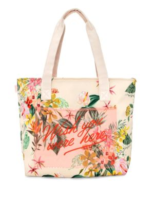 Paradiso Floral Cooler Bag