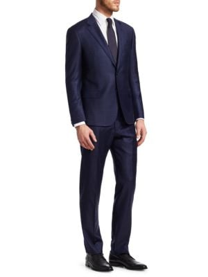 Classic Modern Fit Wool Suit