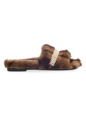 Shade Faux Fur Slippers