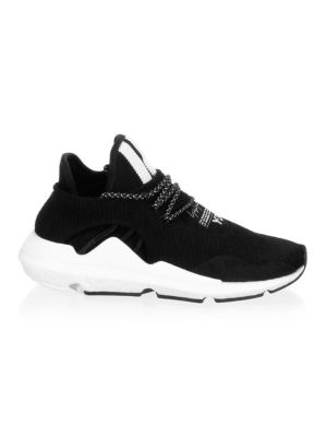 Round Toe Lace Up Sneakers by Y 3