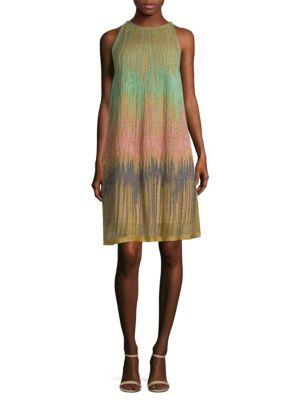 Devore Lurex Dress