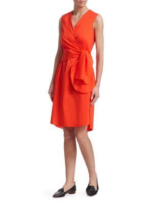 Wrap-Waist Dress