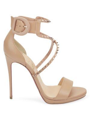 Choca 120 Studded Sandals by Christian Louboutin