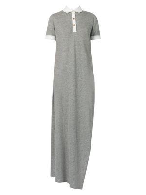 Linen Polo Tunic