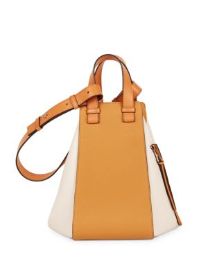 HAMMOCK MEDIUM COLORBLOCK LEATHER SATCHEL BAG