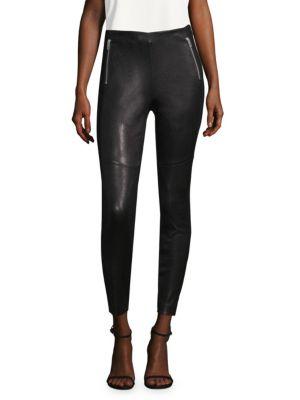 Marissa Leather Panel Leggings