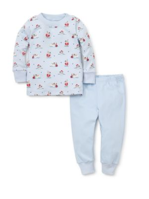 Baby Boy's & Little Boy's Two-Piece Burly Bulldogs Pajama Set