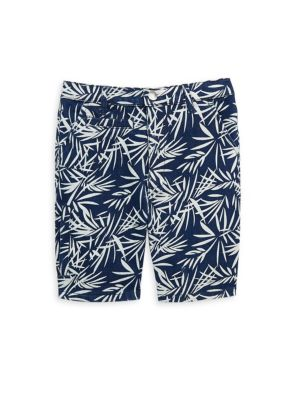 Toddler's & Little Boy's Palm-Print Shorts