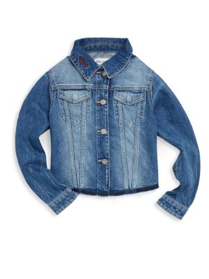 Toddler's, Little Girl's & Girl's Manning Denim Jacket