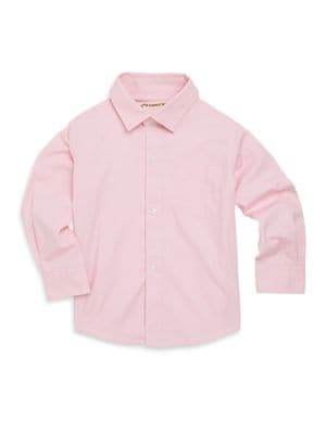 Toddler's, Little Boy's & Boy's Casual Cotton Button-Down Shirt