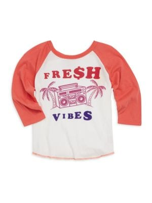 Baby's, Toddler,'s Little Boy's & Boy's Fresh Vibes Raglan Tee