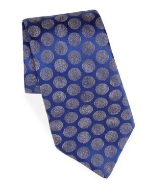 Moon Jaquard Silk Tie