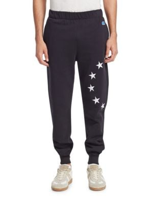 Star-Embroidered Sweatpants
