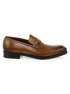 Backer Leather Penny Loafer
