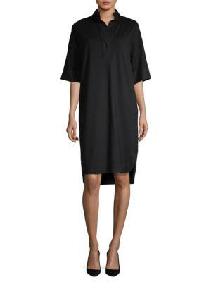 Tamara Combo Shirt Dress