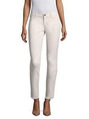 Mercer Mid-Rise Skinny Jeans