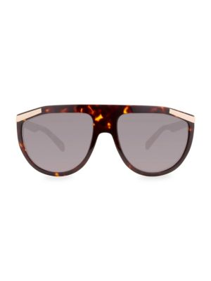 Smoked Shield Sunglasses