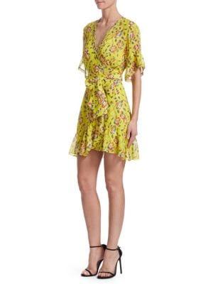 Garden Silk Brandy Dress
