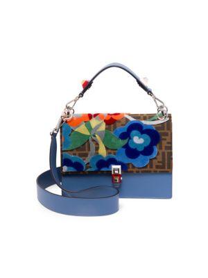 Kan I Tapestry Logo Shoulder Bag