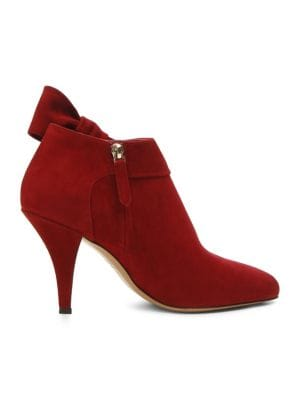 Side Bow Ankle Boots