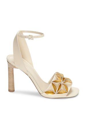 Mercedes Castillo Hae Curve-Heel Sandals VScxwzpTo