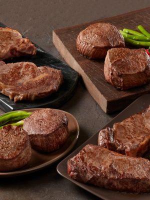 Chicago's Best Seller Angus Beef Steaks