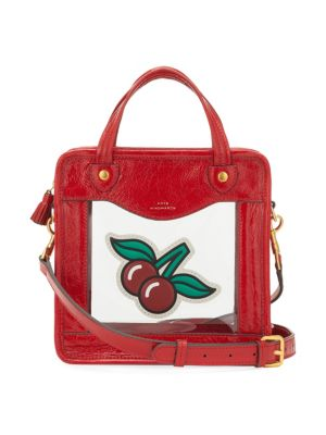 Rainy Day Cherry Crossbody Bag