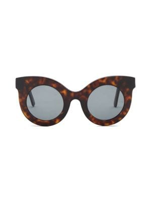ANDY WOLF Millicent 49MM Thick Frame Cat Eye Sunglasses