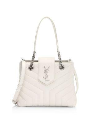 Small Lou Lou Leather Crossbody Bag