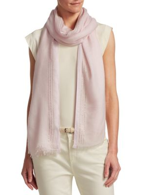Aria Crystal Evening Silk & Cashmere Scarf from Saks Fifth Avenue