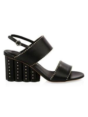 Gavi Studded Wedge Sandals