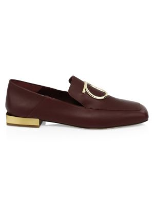 Salvatore Ferragamo Lana Buckle Leather Loafers NQZ4ljun6a