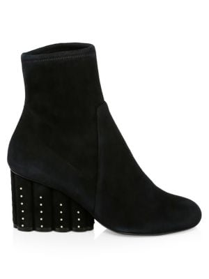 Gallio Suede Wedge Ankle Boots