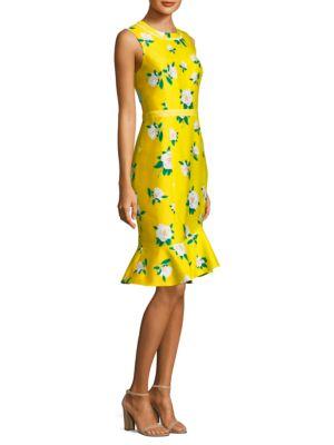 Magnolia Ruffle Shift Dress