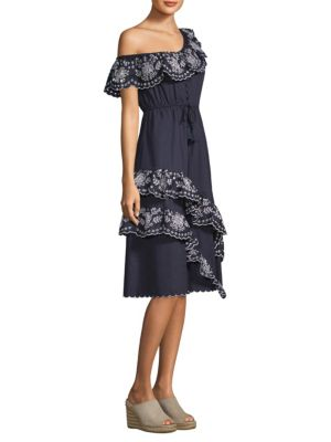 Alouette Ruffle Dress