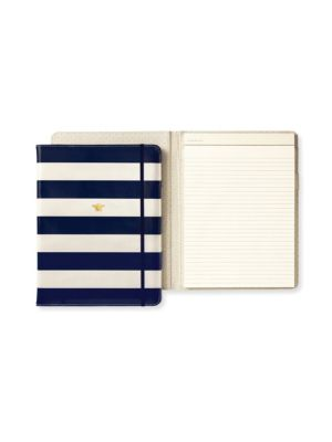 Navy Stripe Folio