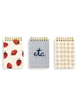 Strawberries Notepad Set