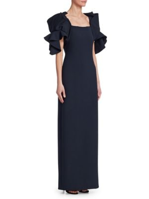 Origami-Sleeve Gown