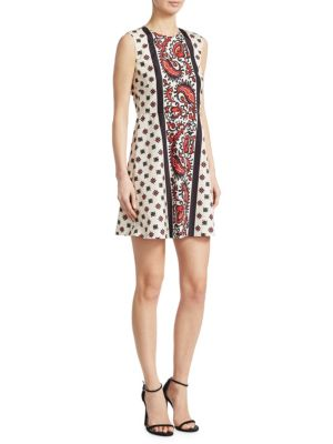 Bandanna-Print Dress