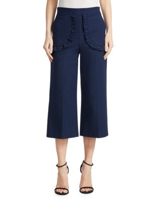 Stretch Cropped Pants