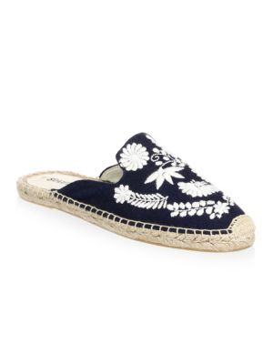 Ibiza Embroidered Mules