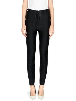 Stretch Lace-Up Pant