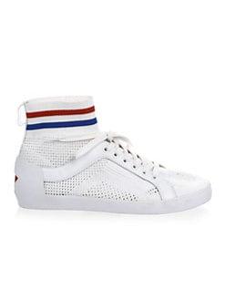 아쉬 닌자 스니커즈 화이트 ASH Ninja Perforated Sneakers,White