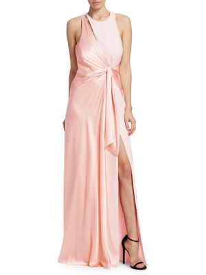 CINQ A SEPT CLEMENCE GOWN IN PINK