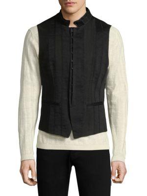 Slim Seamed Vest