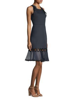 Nerissa Organza Trim Dress