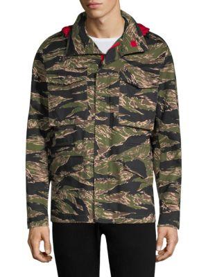 HILFIGER EDITION He Camouflage Jacket
