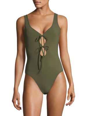 KARLA COLLETTO SWIM Allure V-Neck Silent Underwire Tank Maillot